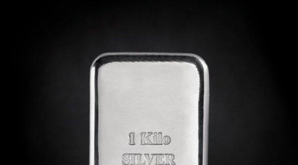 Photo of 1 kilo of Silver