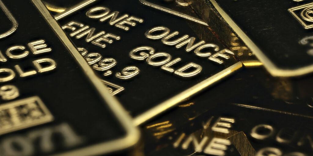 One Ounce Fine Gold Bar